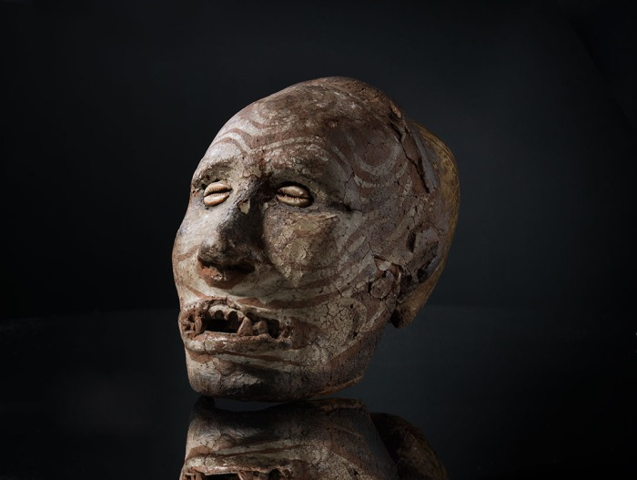 moesgaard museum, de etnografiske samlinger, ethnography, collections, museum, aarhus, denmark, tuxen, shoes, papua new guinea, sepik