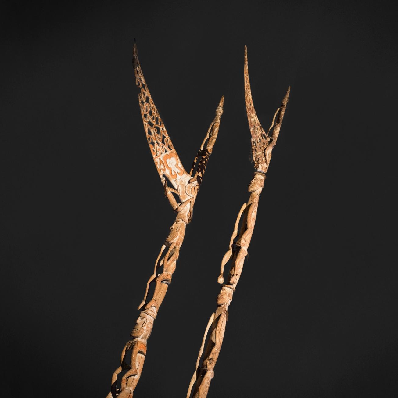 moesgaard museum, de etnografiske samlinger, ethnography, collections, museum, aarhus, denmark, bisj pole, asmat