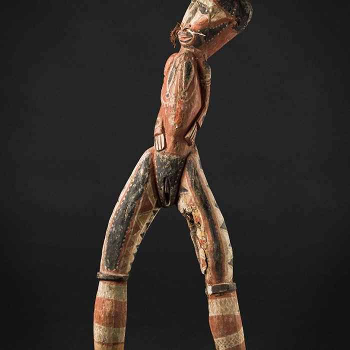 moesgaard museum, de etnografiske samlinger, ethnography, collections, museum, aarhus, denmark, female, ancestor, spirit, papua new guinea, tetepeku, haus tambaran