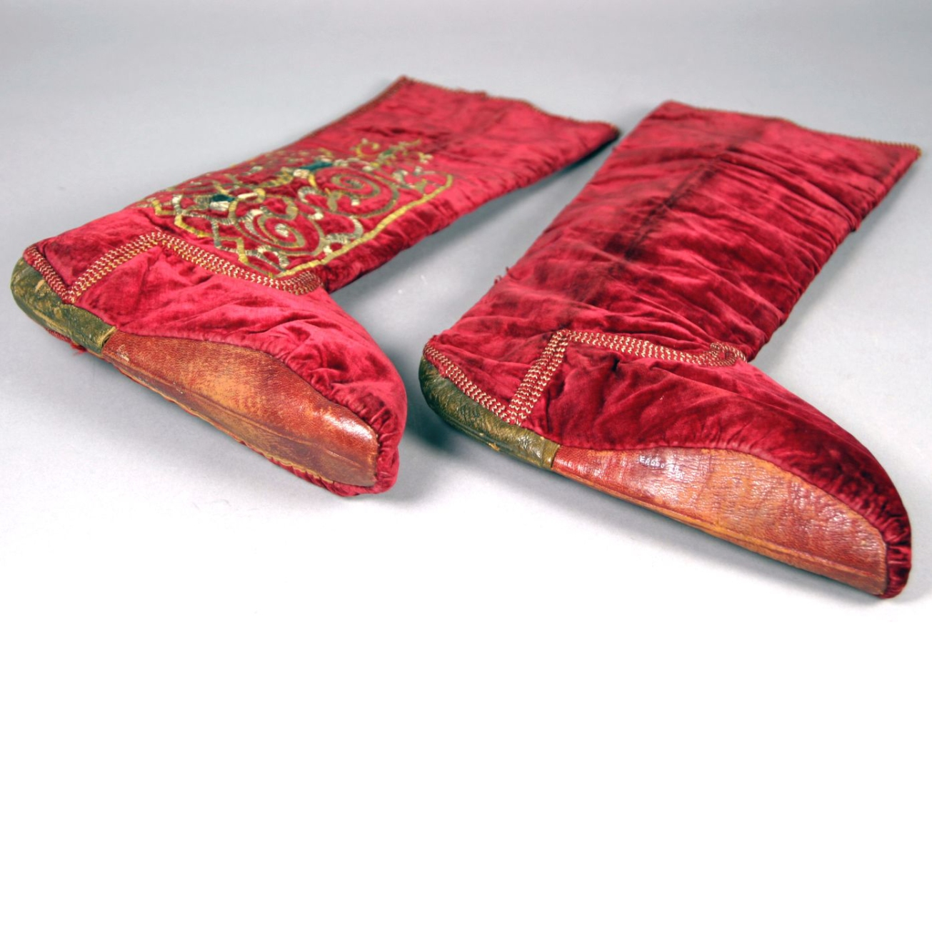 Shoes, moesgaard museum, de etnografiske samlinger, ethnography, collections, museum, aarhus, denmark