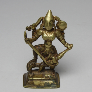 figurine, india, brass, moesgaard museum, de etnografiske samlinger, ethnography, collections, museum, aarhus, denmark