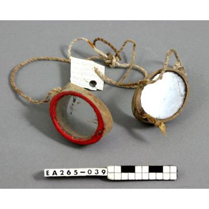 solomon islands, swimming goggles, moesgaard museum, de etnografiske samlinger, ethnography, collections, museum, aarhus, denmark