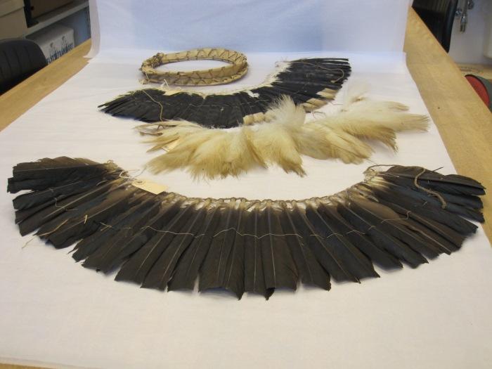 txamatxama, Katxuyana, feather headdress, adornment, amazon, brazil, moesgaard museum, de etnografiske samlinger, ethnography, collections, museum, aarhus, denmark