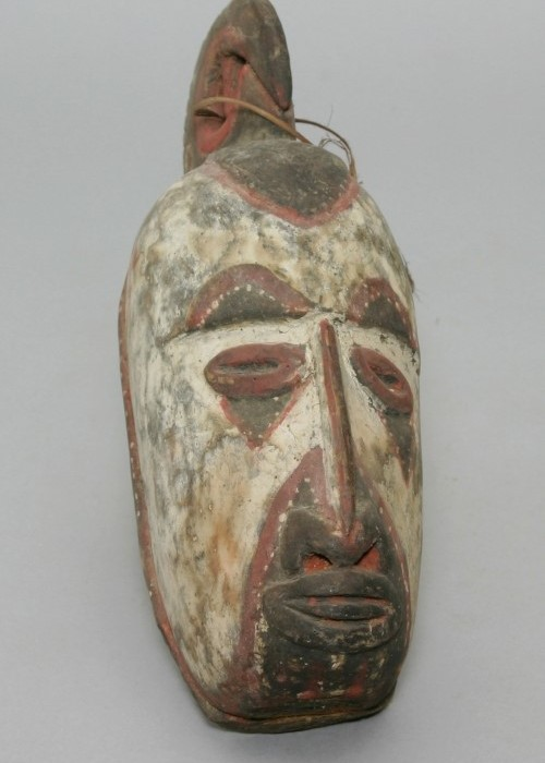 mask, papua new guinea, yams, moesgaard museum, de etnografiske samlinger, ethnography, collections, museum, aarhus, denmark