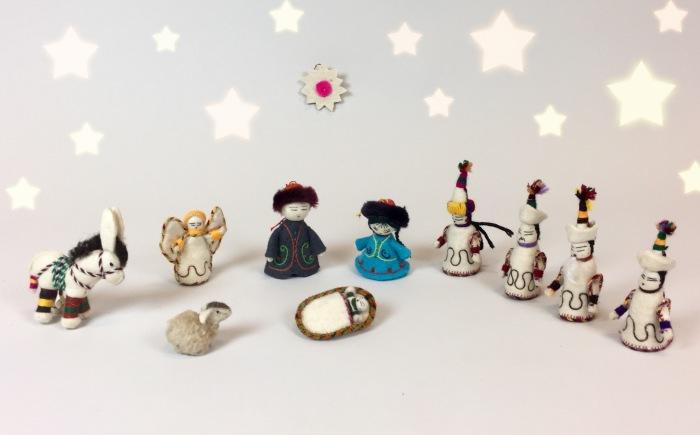 christmas, nativity scene, magi, magus, moesgaard museum, de etnografiske samlinger, ethnography, collections, museum, aarhus, denmark