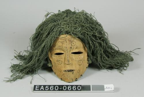 zambia, masks, mask, pwewo, ritual, transition, woman, moesgaard museum, de etnografiske samlinger, ethnography, collections, museum, aarhus, denmark