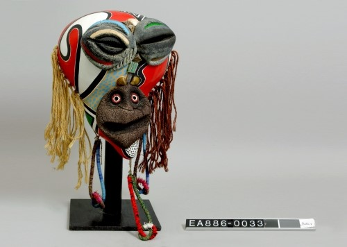 brazil, mask, tourism, colours, ethnic, moesgaard, ethnography, anthropology, aarhus, denmark
