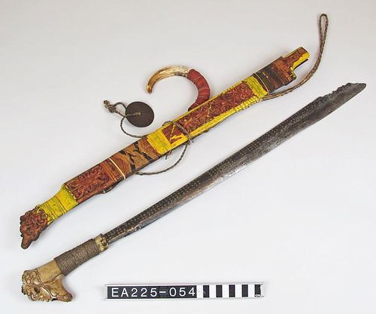 sword, sarawak, malaysia, honour, valour, moesgaard, museum, collection