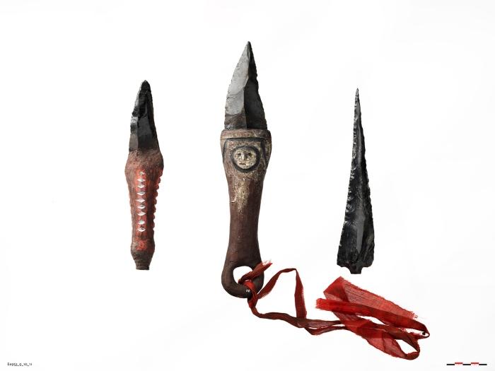 moesgaard museum, manus, papua new guinea, game of thrones, obsidian, dragonglass, knives, knife