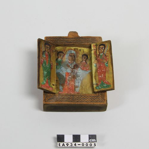 ethiopia, christianity, moesgaard museum, ethnography, anthropology, religion, icon, jesus
