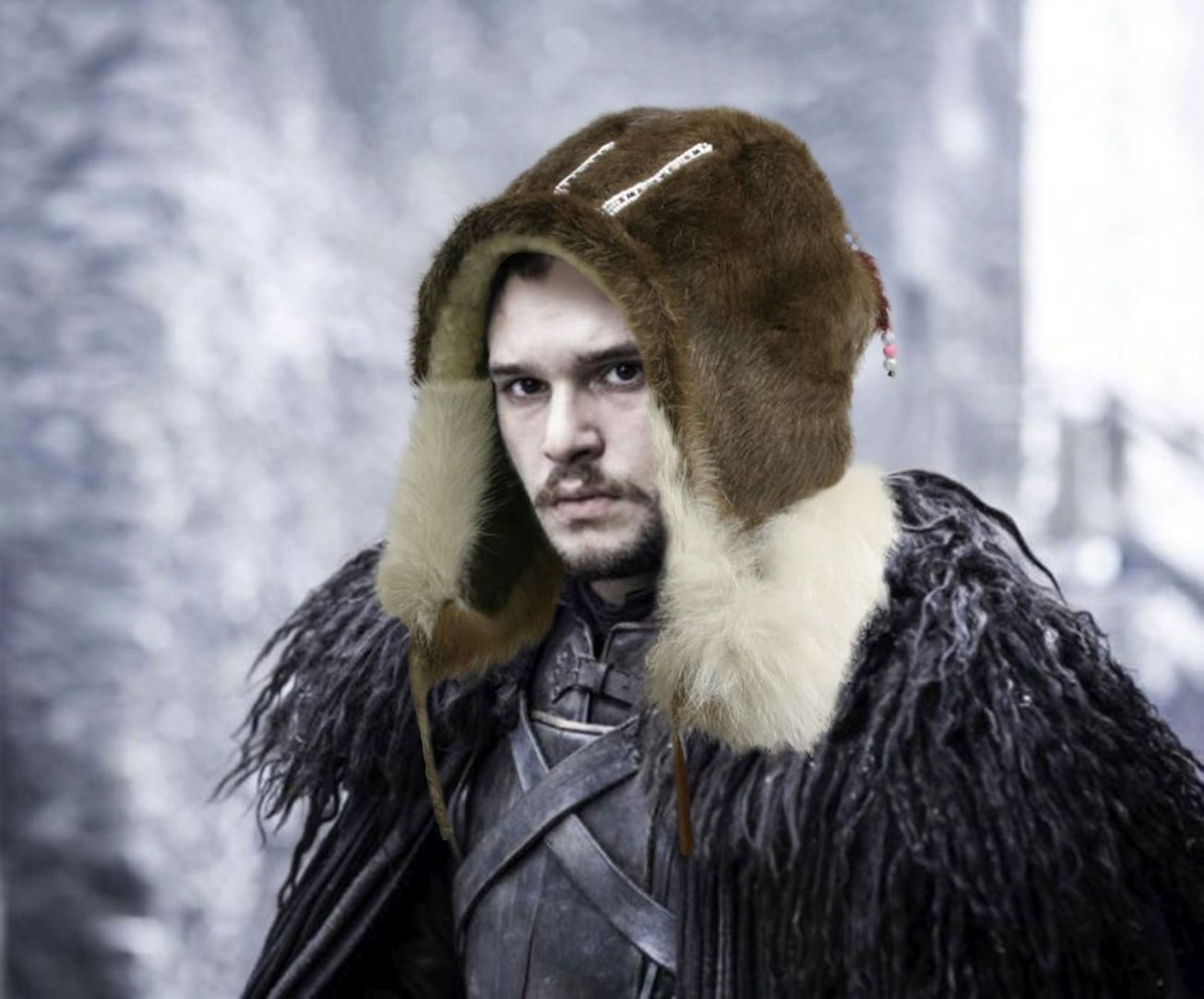 Jon Snow, game of thrones, moesgaard, ethnography, the wall