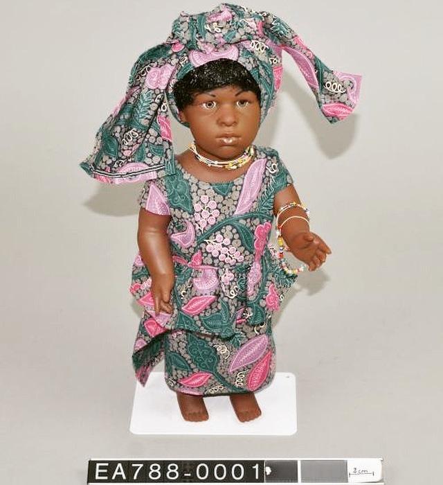 Ghana, doll, representation, toys, politics, denmark, play, moesgaard, moesgaard museum