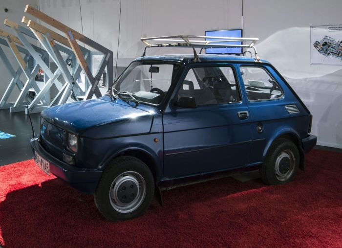 fiat maluch, fiat, poland, collections, exhibitions, moesgaard museum. anthropology, fiat 126