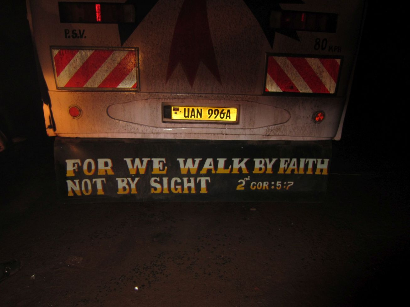 Jesus, Christ, Uganda, Gabon, God, religion, sticker, driving, roads, faith, sight