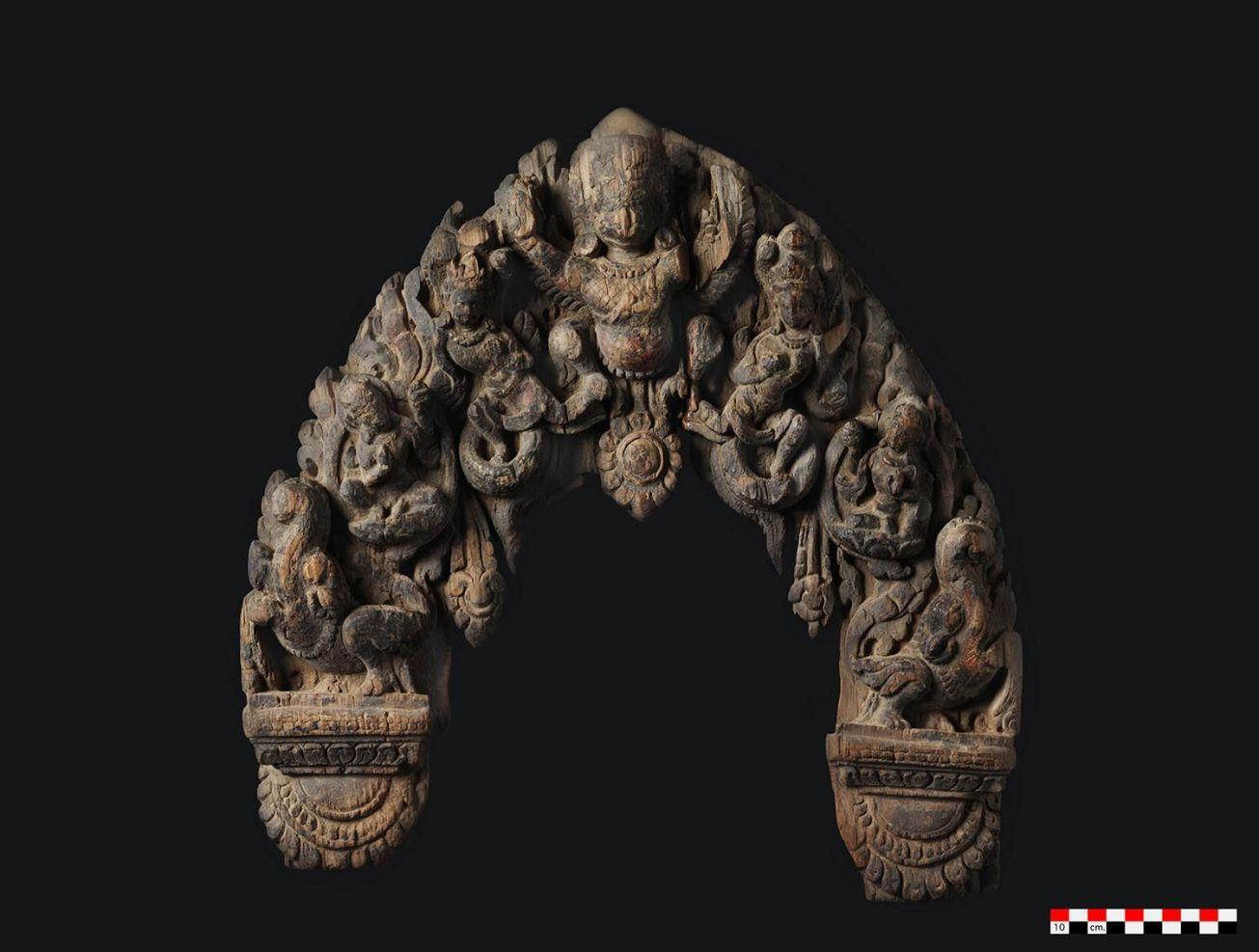 nepal, repatriation, religion, heritage, Werner Jacobsen, Moesgaard Museum, temple