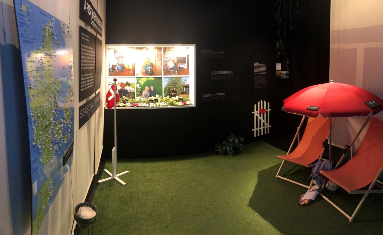 kolonihave, moesgaard museum, allotment, garden, garden gate, exhibition, students, anthropology, ethnpgraphy, moesgaard, moesgaard museum, momu