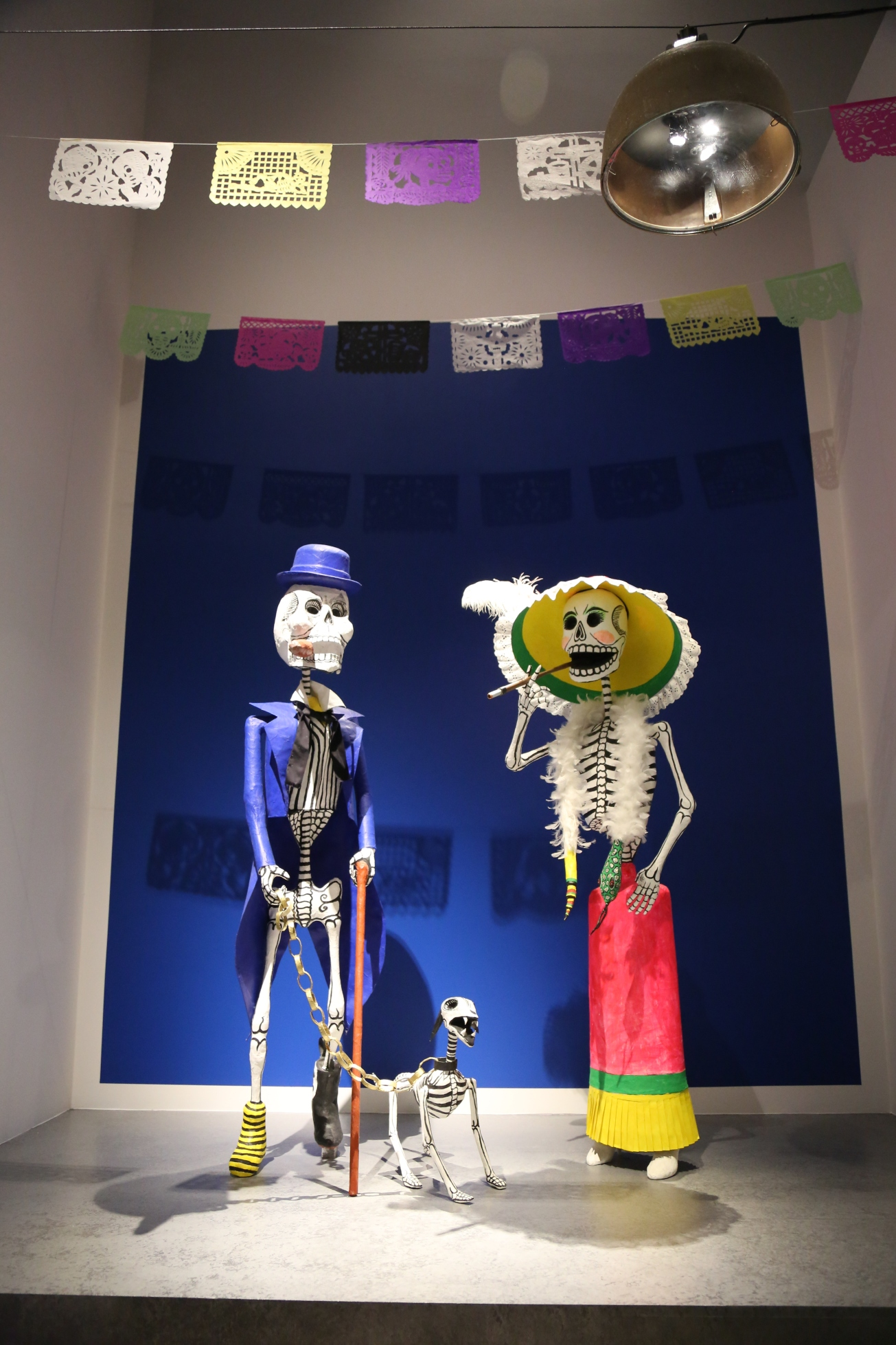 Day of the dead, dia de muertos, la catrina, aztec, Mexico, Moesgaard Museum, momu, collections, death, underworld, skeleton, skull, Mictēcacihuātl