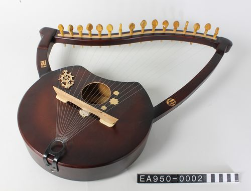 semsemeya, Port Said, Egypt, music, instrument, Moesgaard Museum, momu, ethnography, anthropology, collections, museum